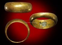 แหวนปลอกมีดเนื้อโลหะผสมปี2532 (นะลอยนิยม)ไซด์ 63 หลวงปู่ดู่วัดสะแก