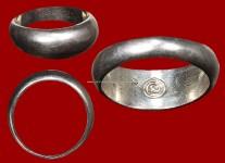 แหวนปลอกมีดเนื้อเงินปี2532 (สภาพ 100% ไซด์ 63) หลวงปู่ดู่วัดสะแก