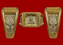 แหวนพระพุทธประทานพรเนื้อเงิน ปี 2531(ไซด์ 58+ทองอย่างดี)หลวงปู่ดู่วัดสะแก