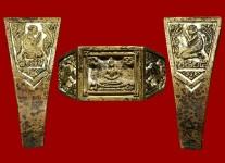 แหวนหน้าพระพุทธเนื้อเนื้อโลหะผสม(ทองเหลือง)ปี2524 (สภาพ100%ขนาด 66) หลวงปู่ดู่วัดสะแก