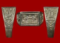แหวนหน้าพระพุทธเนื้อเงินปี2532 โค้ด พ.ศ.(สภาพ 100% ขนาด 59) หลวงปู่ดู่วัดสะแก
