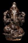 พระบูชาพระพิฆเนศเนื้อดิน หน้าตัก3นิ้ว สวยสมบูรณ์ เก่ามีอายุ